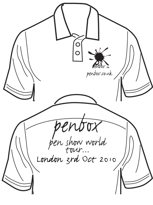 Penbox Pen shop London visit.