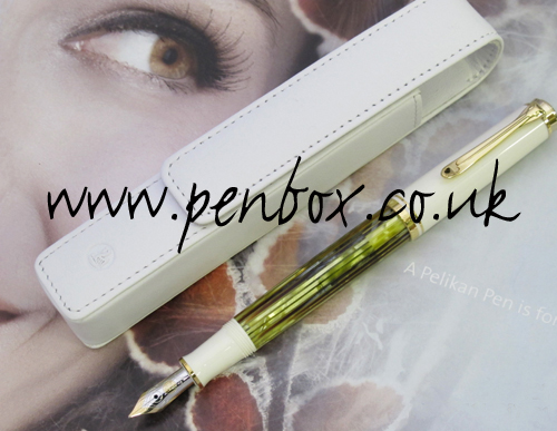 Pelikan Souveran M400 fountain pen with free pen case.