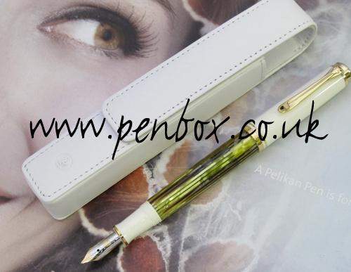Pelikan Souveran M400 fountain pen with free pen case.
