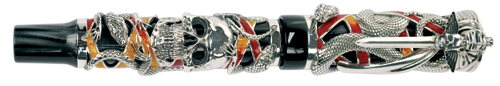 Limited edition Montegrappa Chaos fountain pen