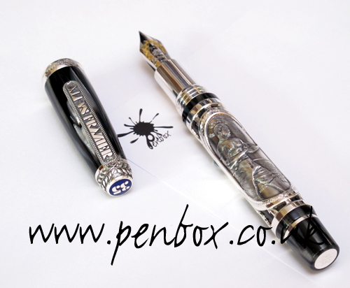 Montegrappa Ali and Frazier pen.