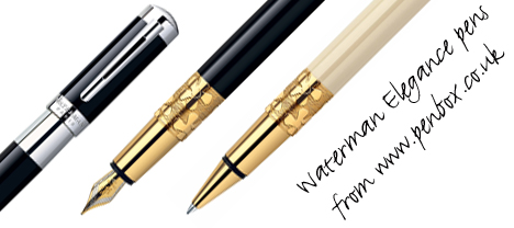Waterman Elegance pens.