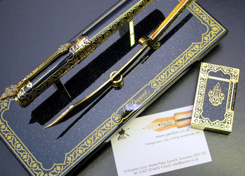 S T Dupont 1001 Nights fountain pen.