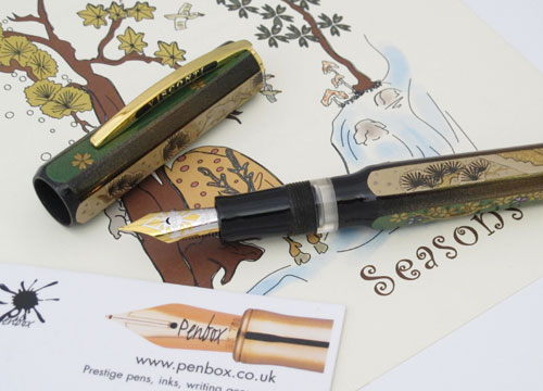 Visconti Four Seasons fountain pen.