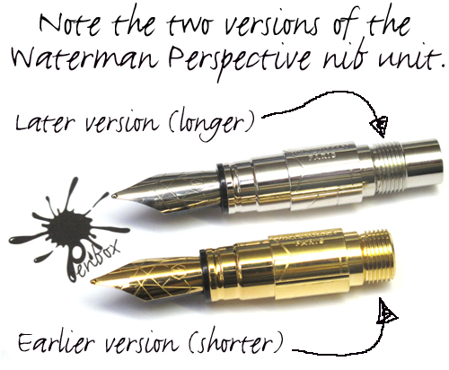 Waterman Perspective nib