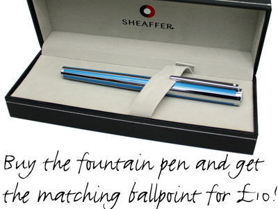 Special Offer on Sheaffer Intensity Pens.