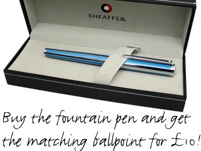 Special Offer on Sheaffer Intensity Pens.