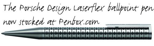 P'3115 Porsche Design Laserflex Ballpoint Pen.