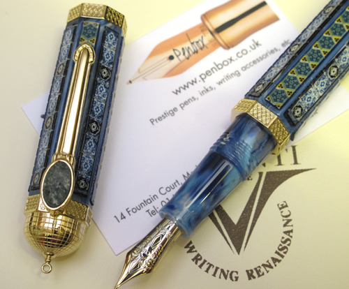 Visconti Al Aqsa fountain pen.