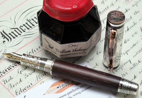 Omas William Shakespeare pen.