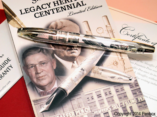 Limited edition Sheaffer Legacy Heritage fountain pen.