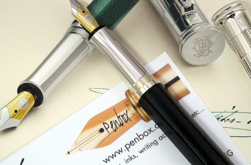 Limited edition Graf von Faber Castell Heritage fountain pen.