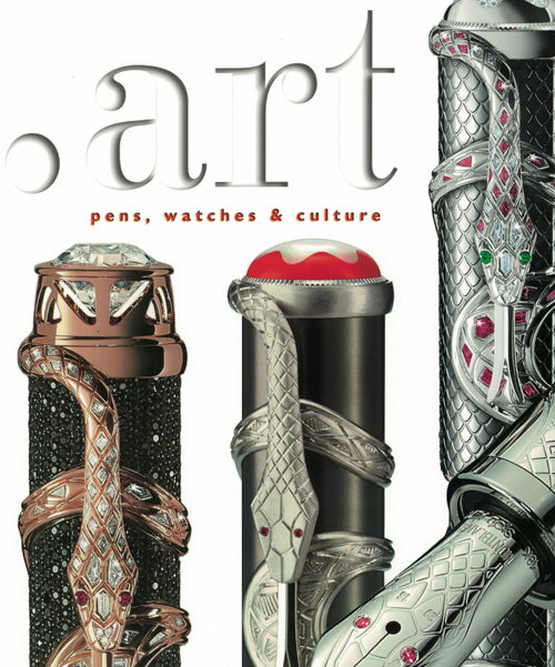 Art Pens Watches and Culture magazine.