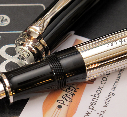 Limited edition Pelikan Spirit Of 1838 fountain pen.