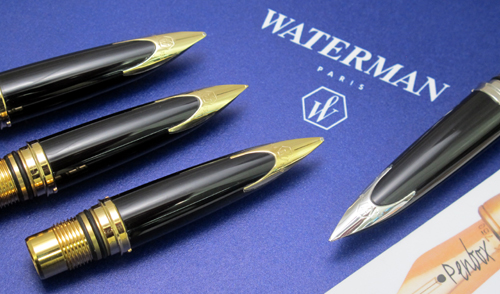 Replacement Waterman Carene nibs.