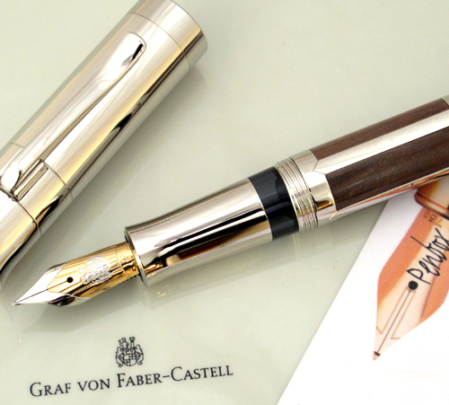 Graf von Faber Castell Pen of the Year 2007 in petrified wood.