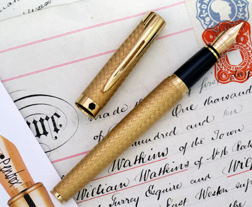 Waterman L'Etalon fountain pen.