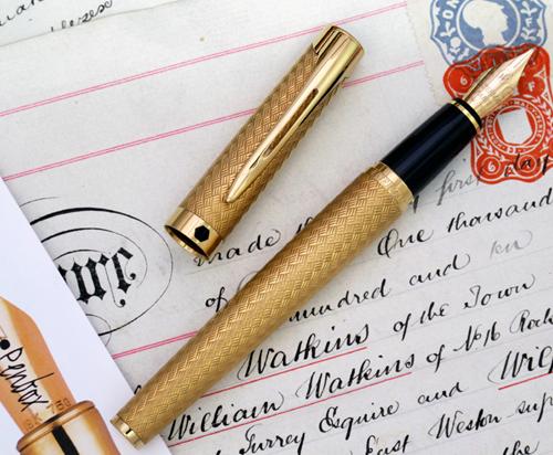 Waterman L'Etalon fountain pen.