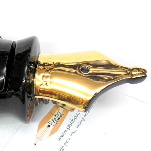 Silver Crane Parker pen.