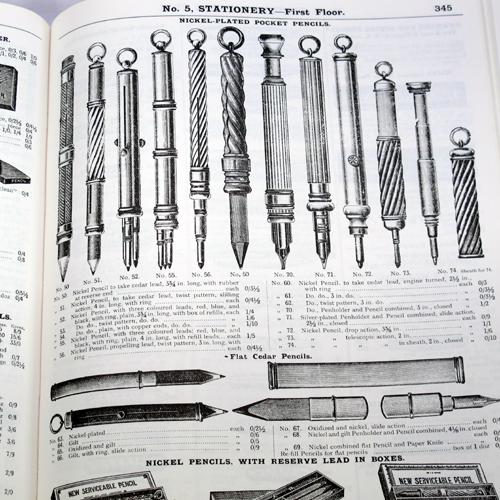 Vintage pencils.