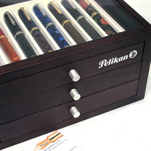 Pelikan pen cabinet pen box.
